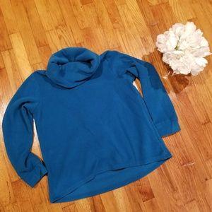 Cozy Fleece Pullover Sweatshirt (L-PLUS)